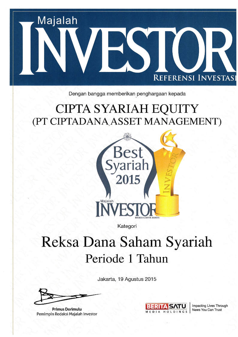 Investor awards 2015 cse 1th